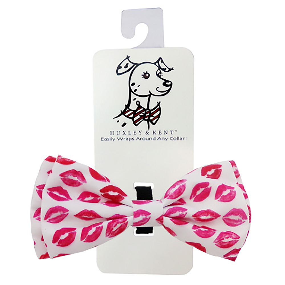 Huxley & Kent Dog Bow Tie Collar Attachment - Kisses