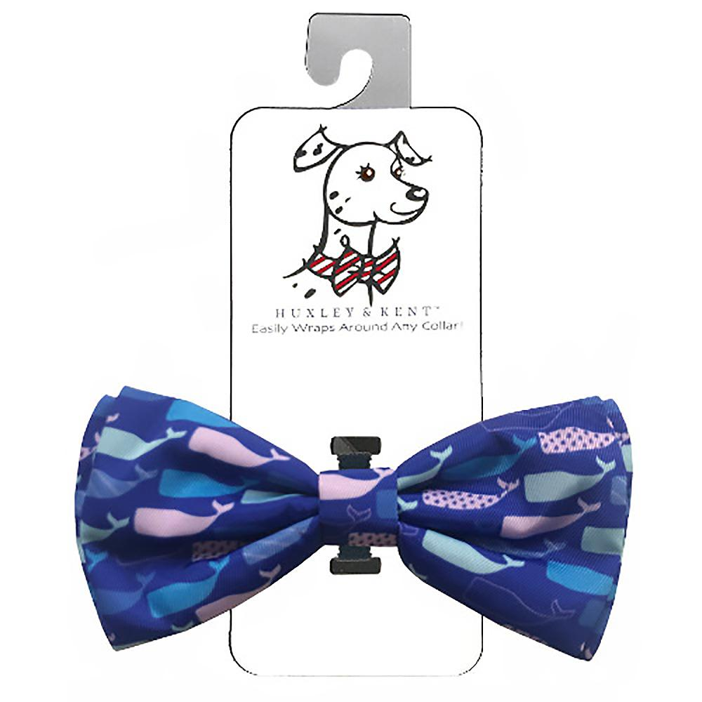 Huxley & Kent Dog Bow Tie Collar Attachment - Whale Watch