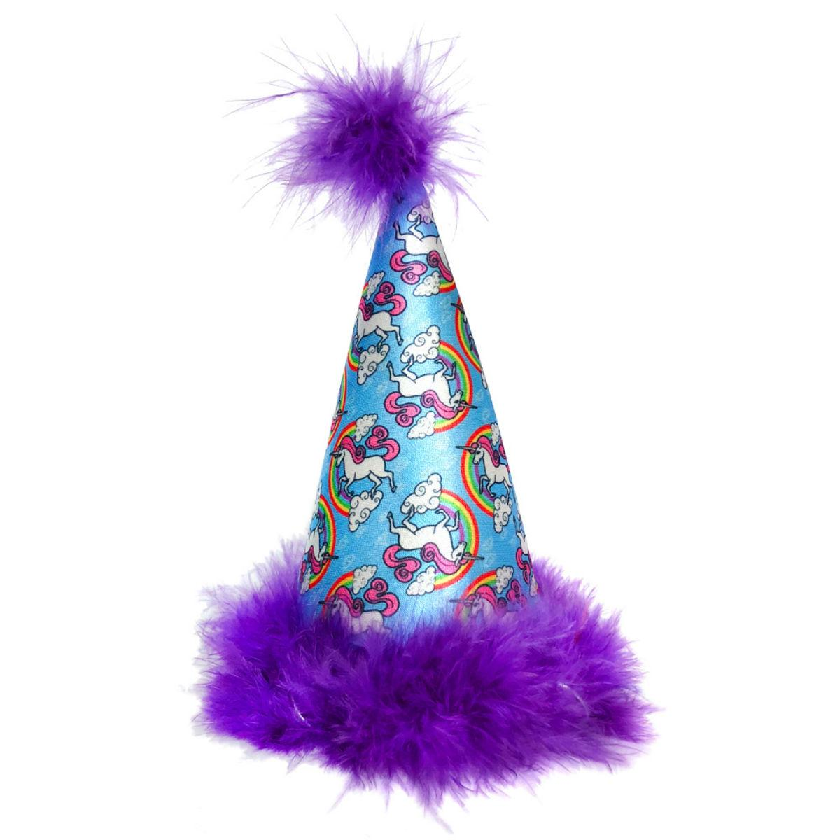 Huxley & Kent Dog Party Hat  - Magic Unicorns