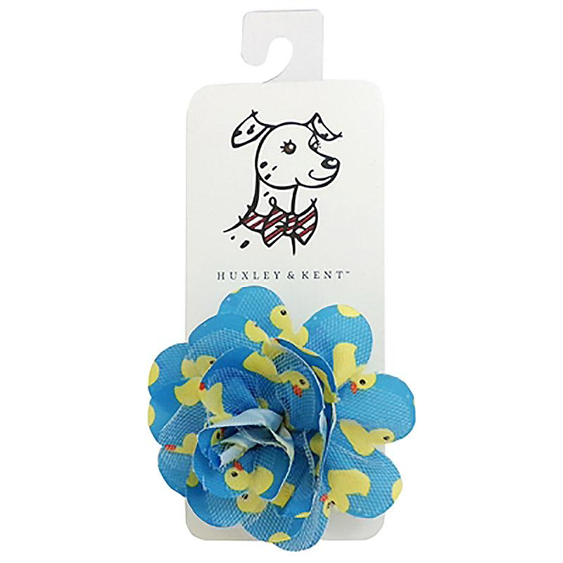 Huxley & Kent Flower Dog and Cat Collar Attachment - Lucky Ducky