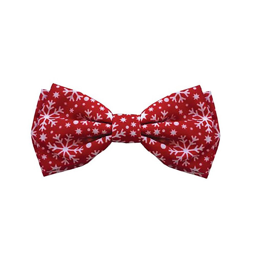 Huxley & Kent Holiday Dog and Cat Bow Tie - Snowflake