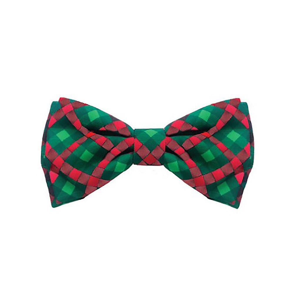 Huxley & Kent Holiday Dog Bow Tie - Scottish Check