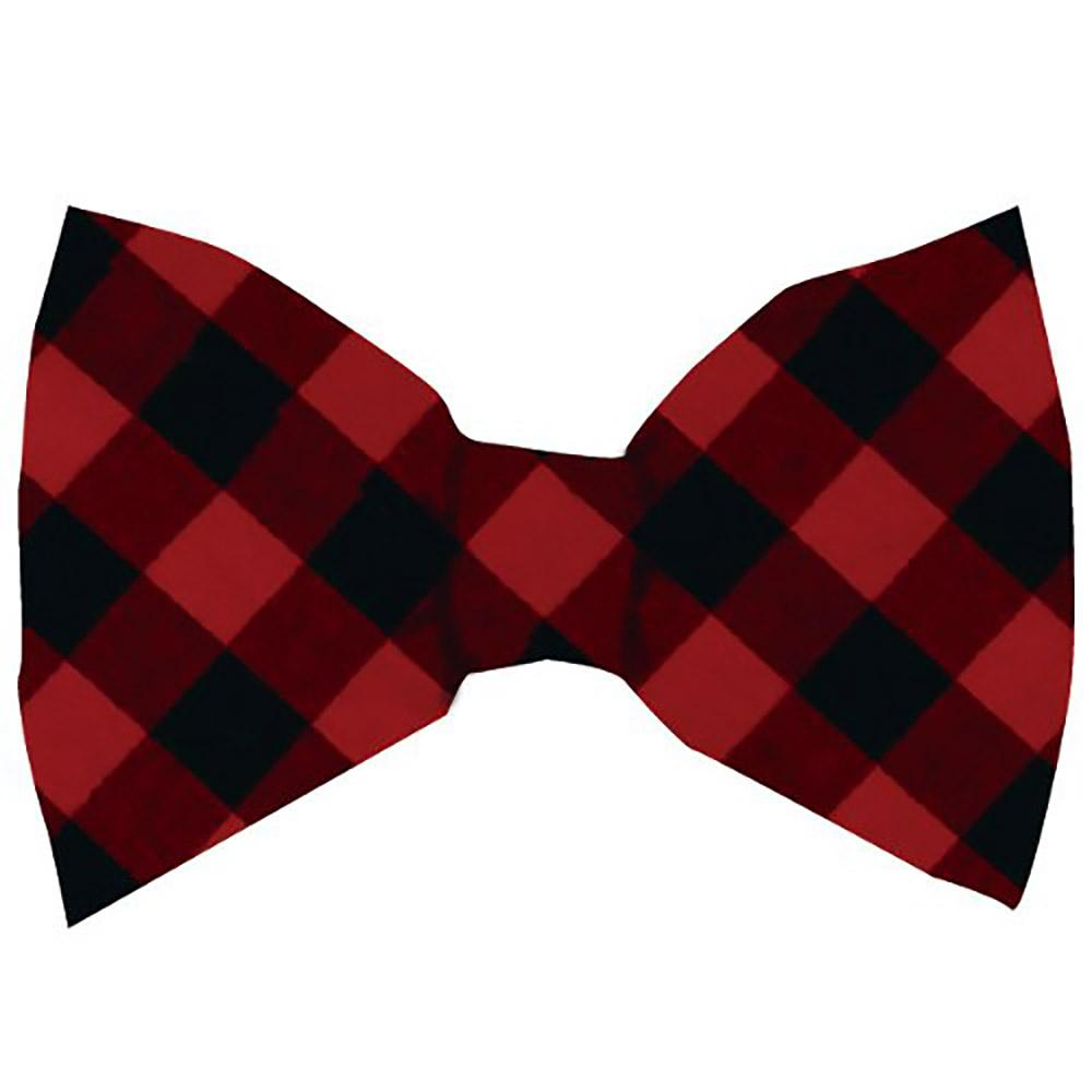 Huxley & Kent Holiday Dog Bow Tie - Buffalo Check