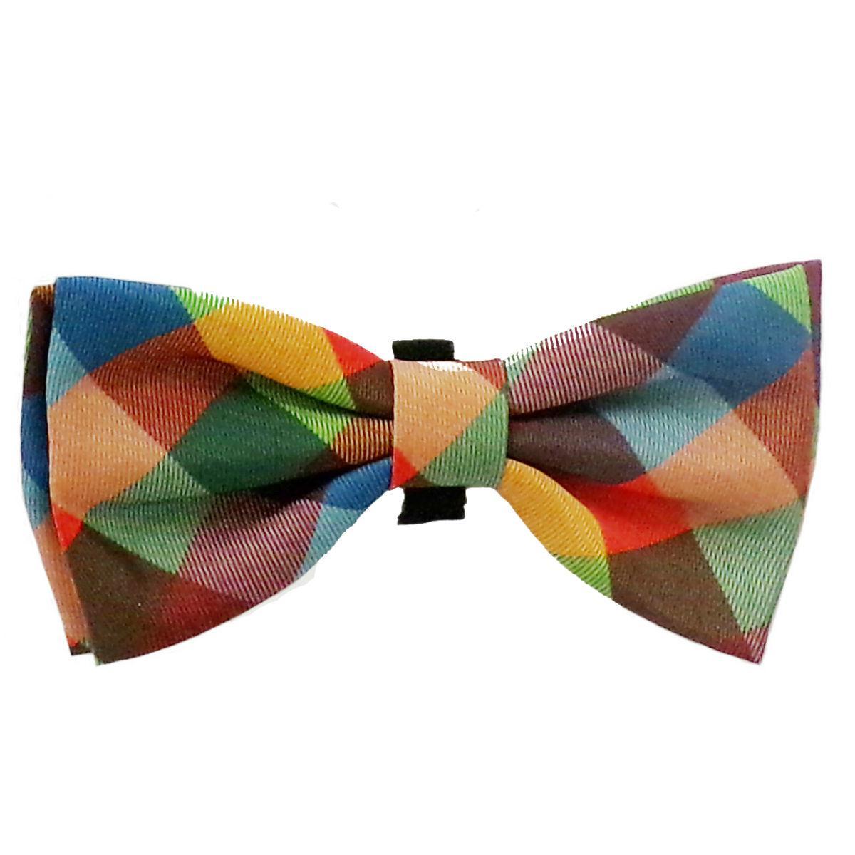 Huxley & Kent Pet Bow Tie Collar Attachment - Fall Check