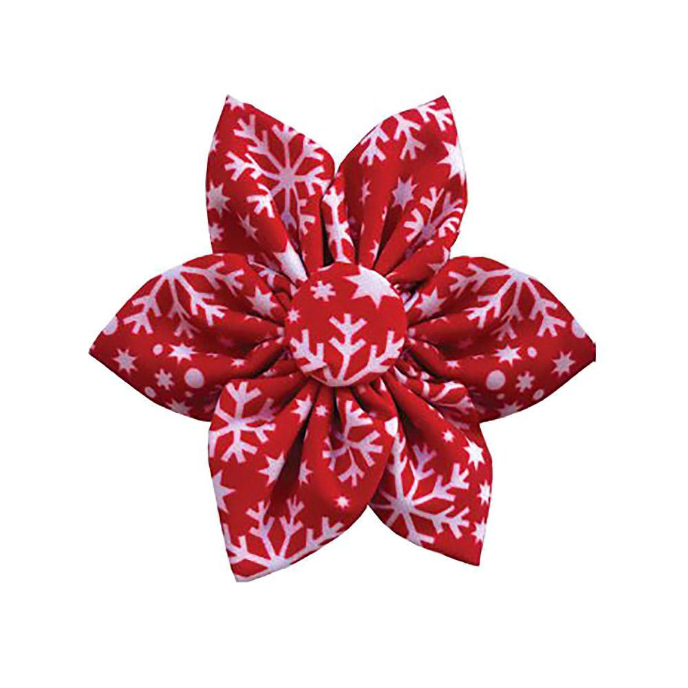 Huxley & Kent Pinwheel Holiday Dog Collar Attachment - Snowflake