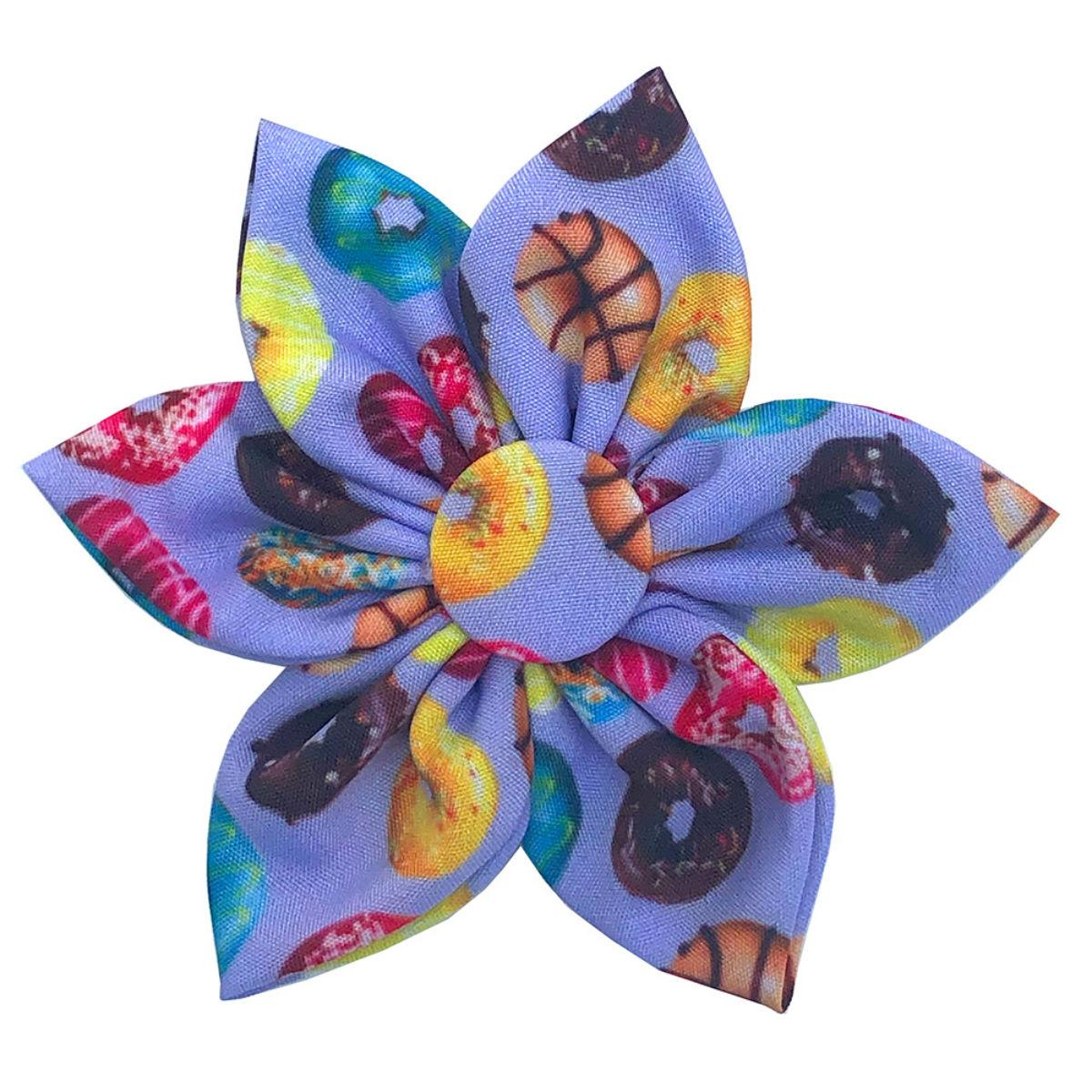 Huxley & Kent Pinwheel Dog and Cat Collar Attachment - Donut Lovers