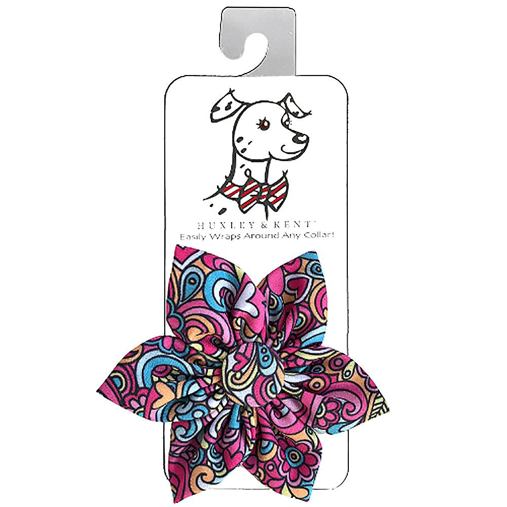 Huxley & Kent Pinwheel Dog and Cat Collar Attachment - Pop Art