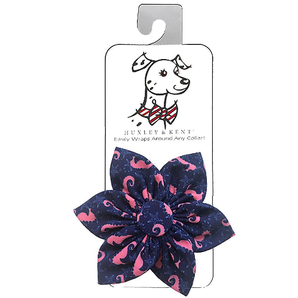 Huxley & Kent Pinwheel Pet Collar Attachment - Seahorse