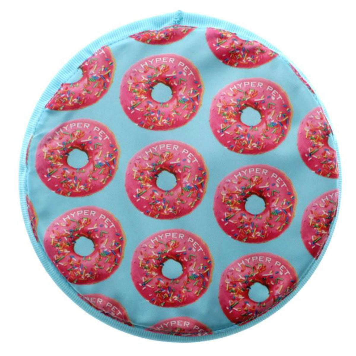 Hyper Pet Flippy Flopper Disc Dog Toy - Donut