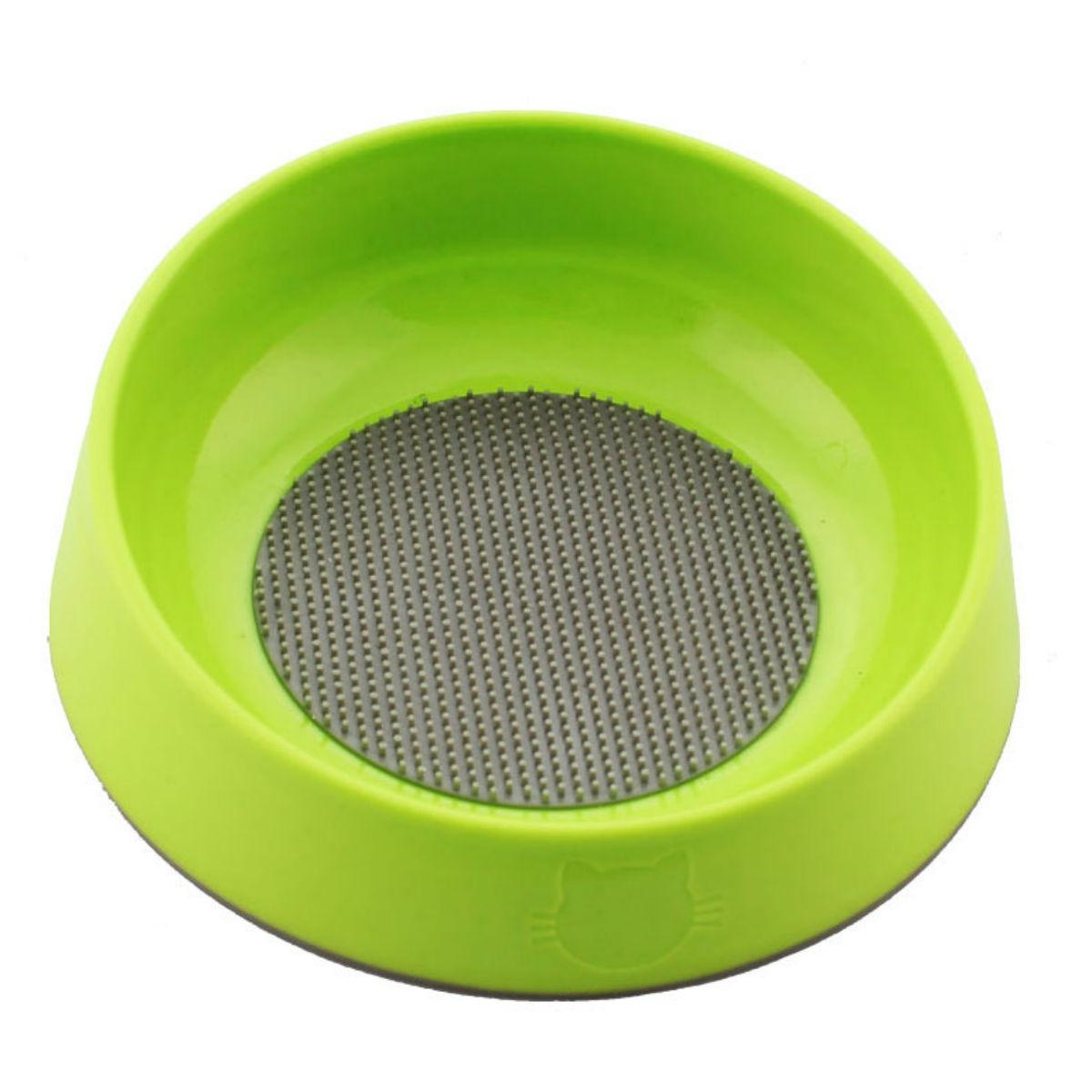 Hyper Pet Oral Health Cat Bowl - Green