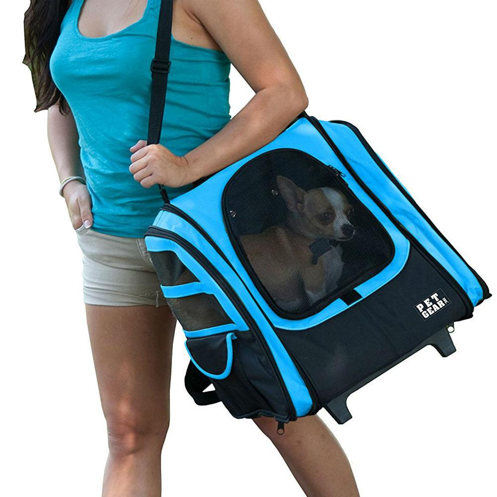 I-Go2 Traveler Dog Carrier - Ocean Blue
