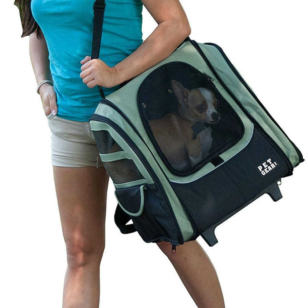 I-Go2 Traveler Dog Carrier - Sage