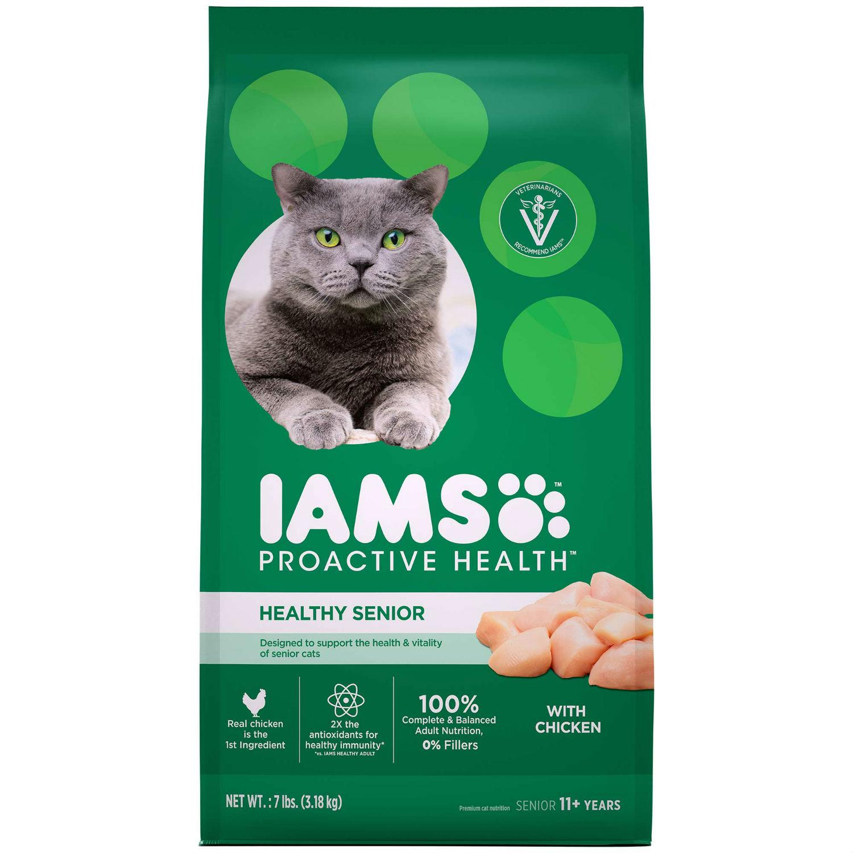 IAMS ProActive Health Dry Cat Food - Healthy Senior