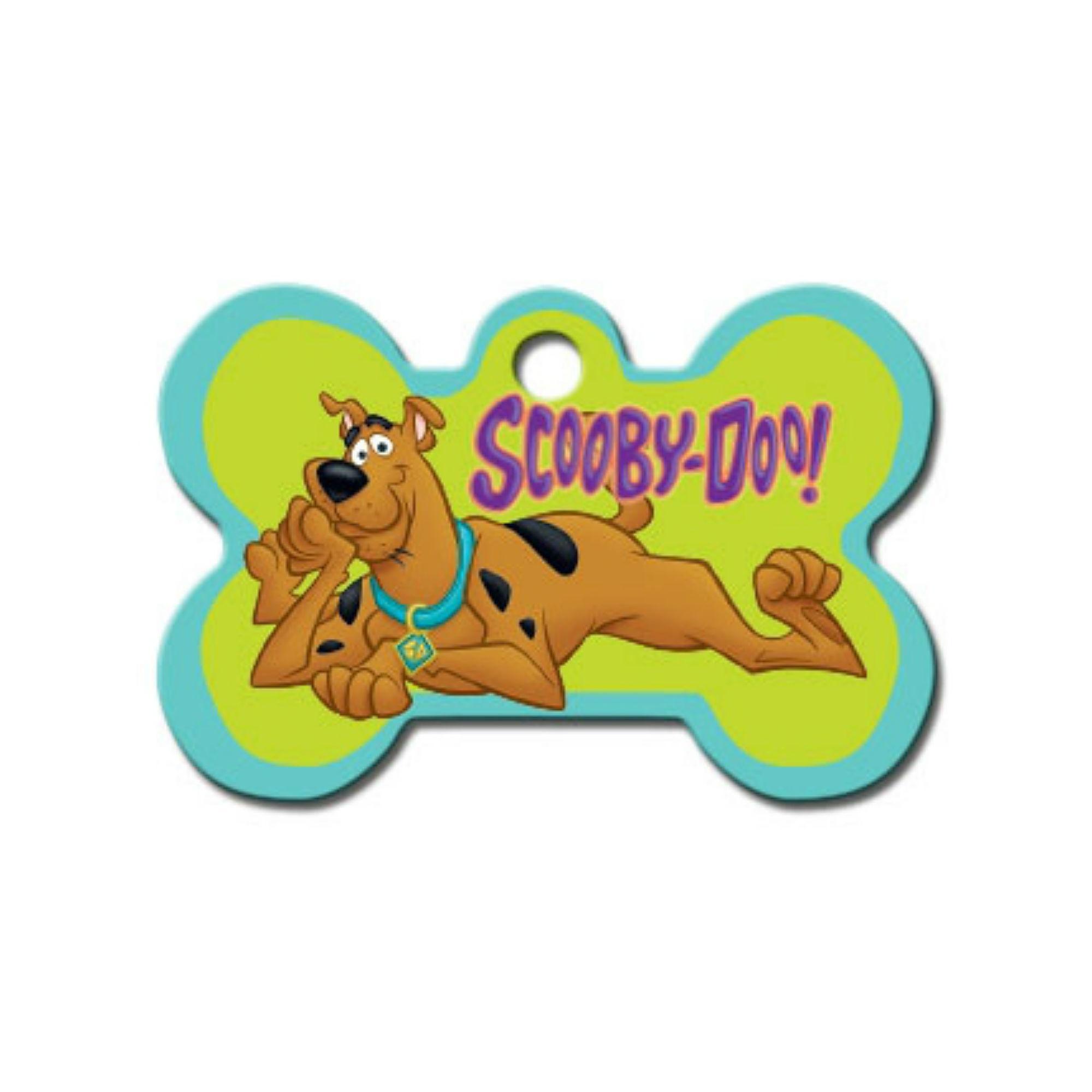 Scooby Doo Bone Large Engravable Pet I.D. Tag