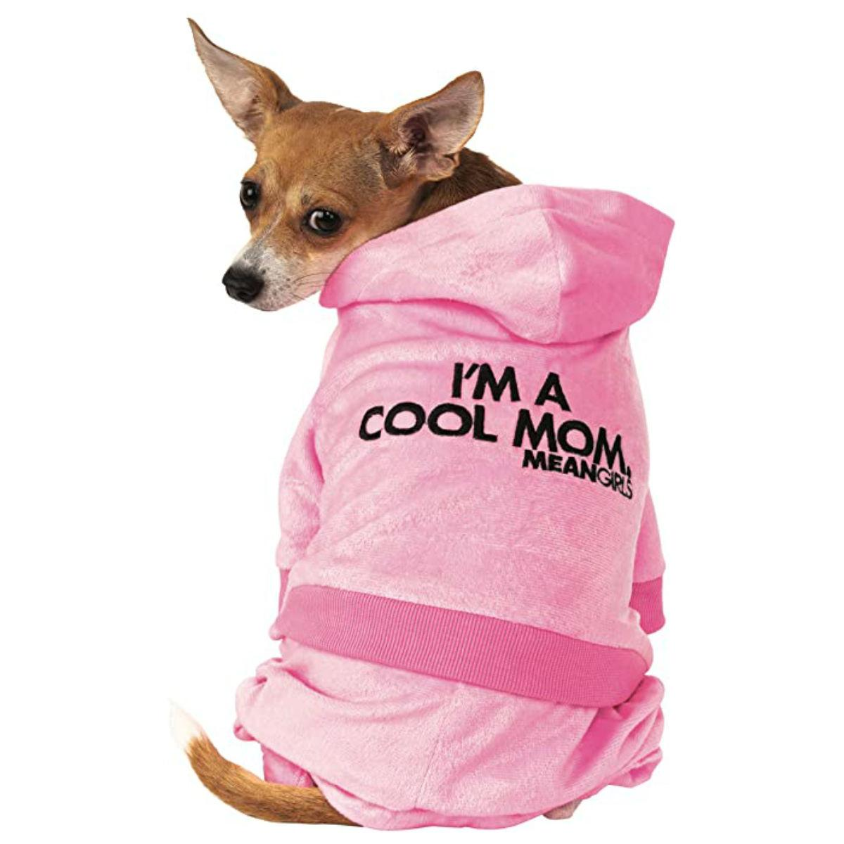 Rubie's Mean Girls I'm a Cool Mom Tracksuit Dog Costume