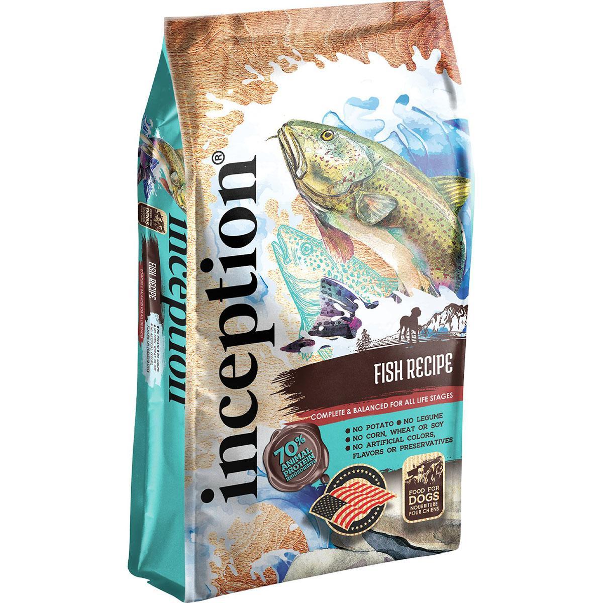 Inception Fish Recipe Dry Dog Food