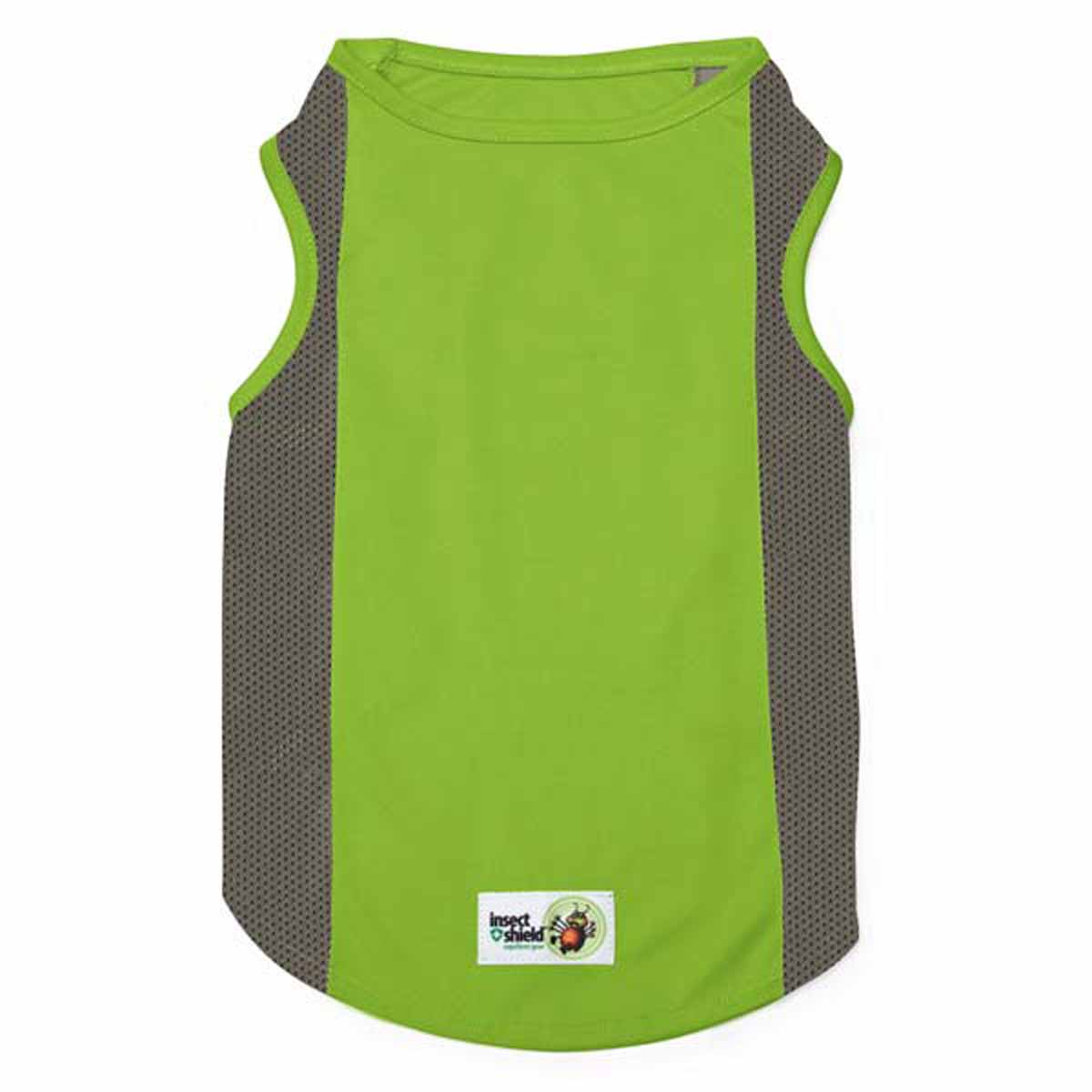 Insect Shield Breathable Mesh Dog Tank - Fern Green