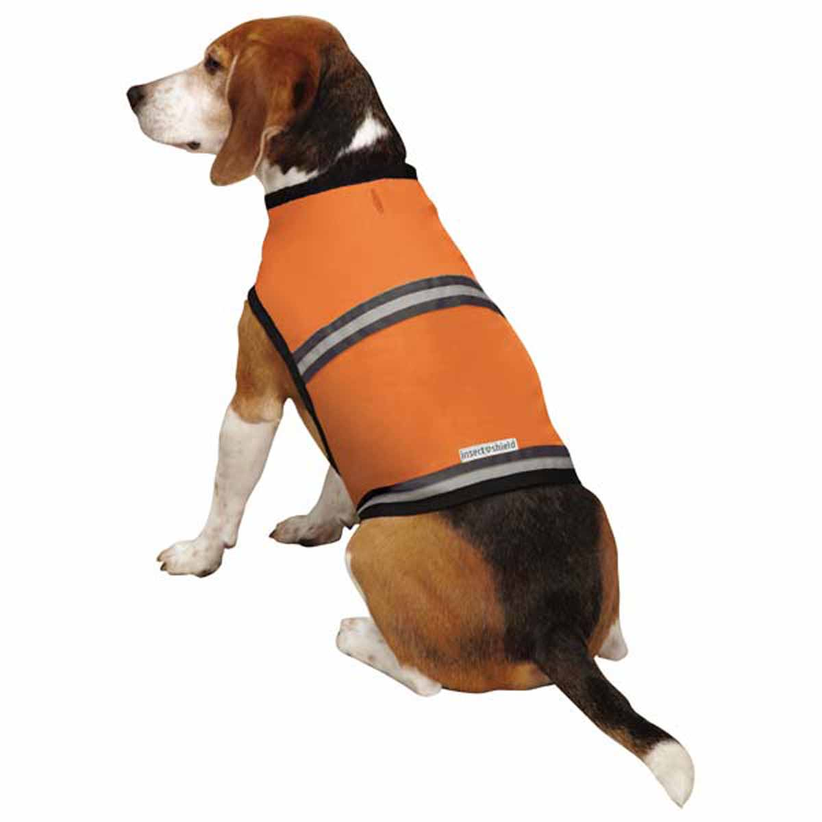Insect Shield Protective Dog Safety Vest - Carrot