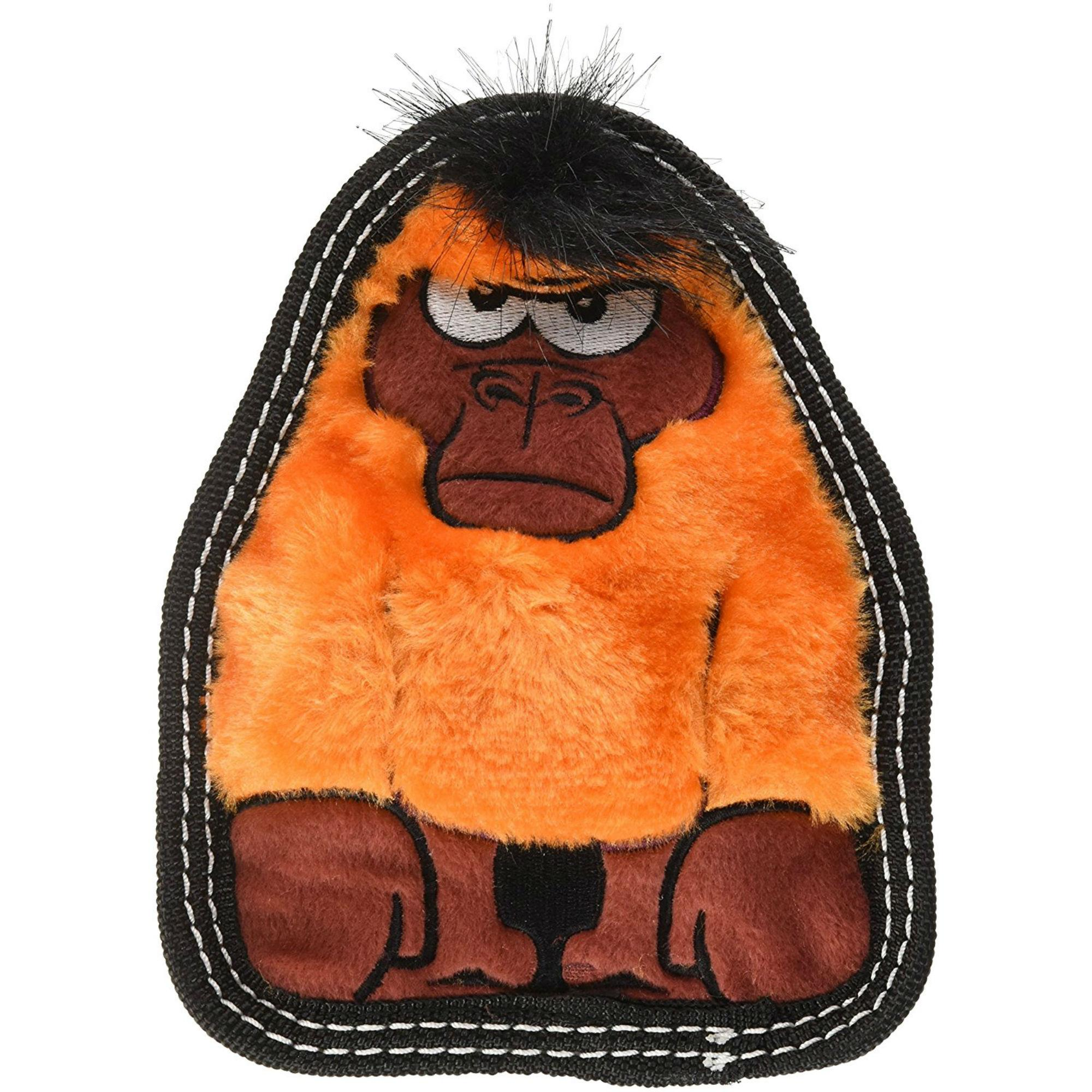 Invincibles Tough Seamz Dog Toy - Gorilla