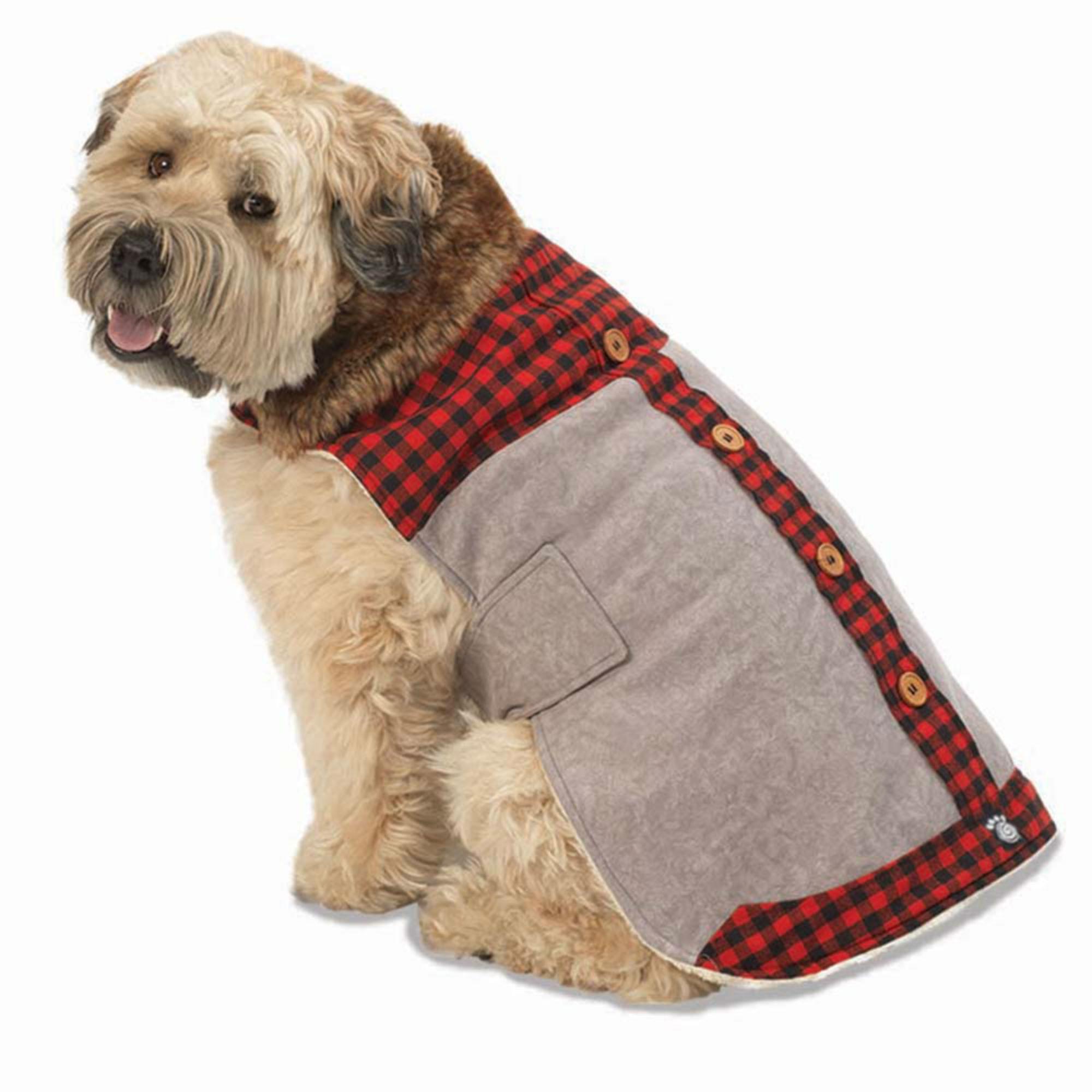 Jackson Lodge Dog Coat - Gray