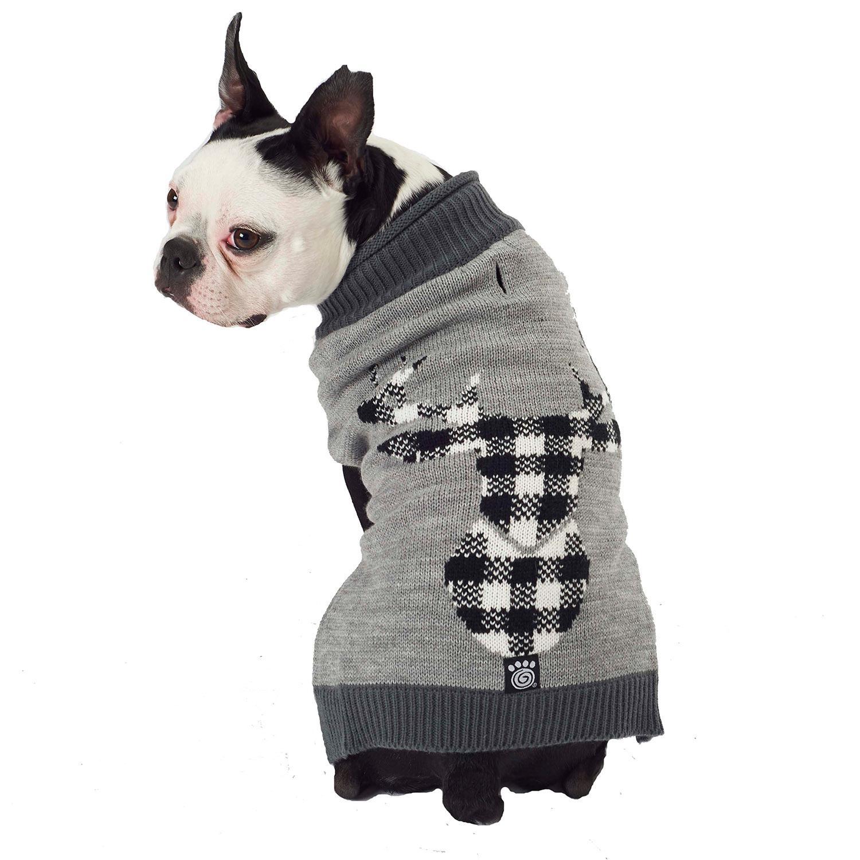 Jackson Novelty Dog Sweater - Gray Elk