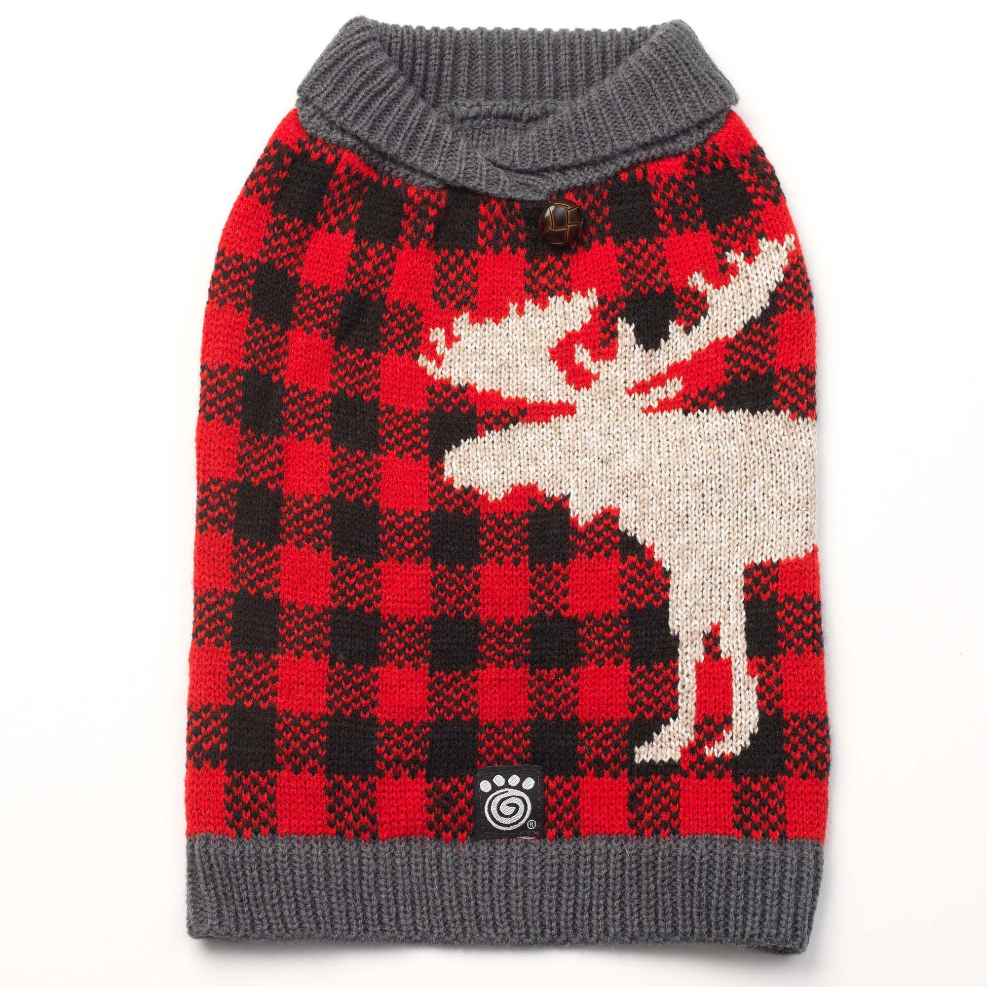 Jackson Novelty Dog Sweater - Moose