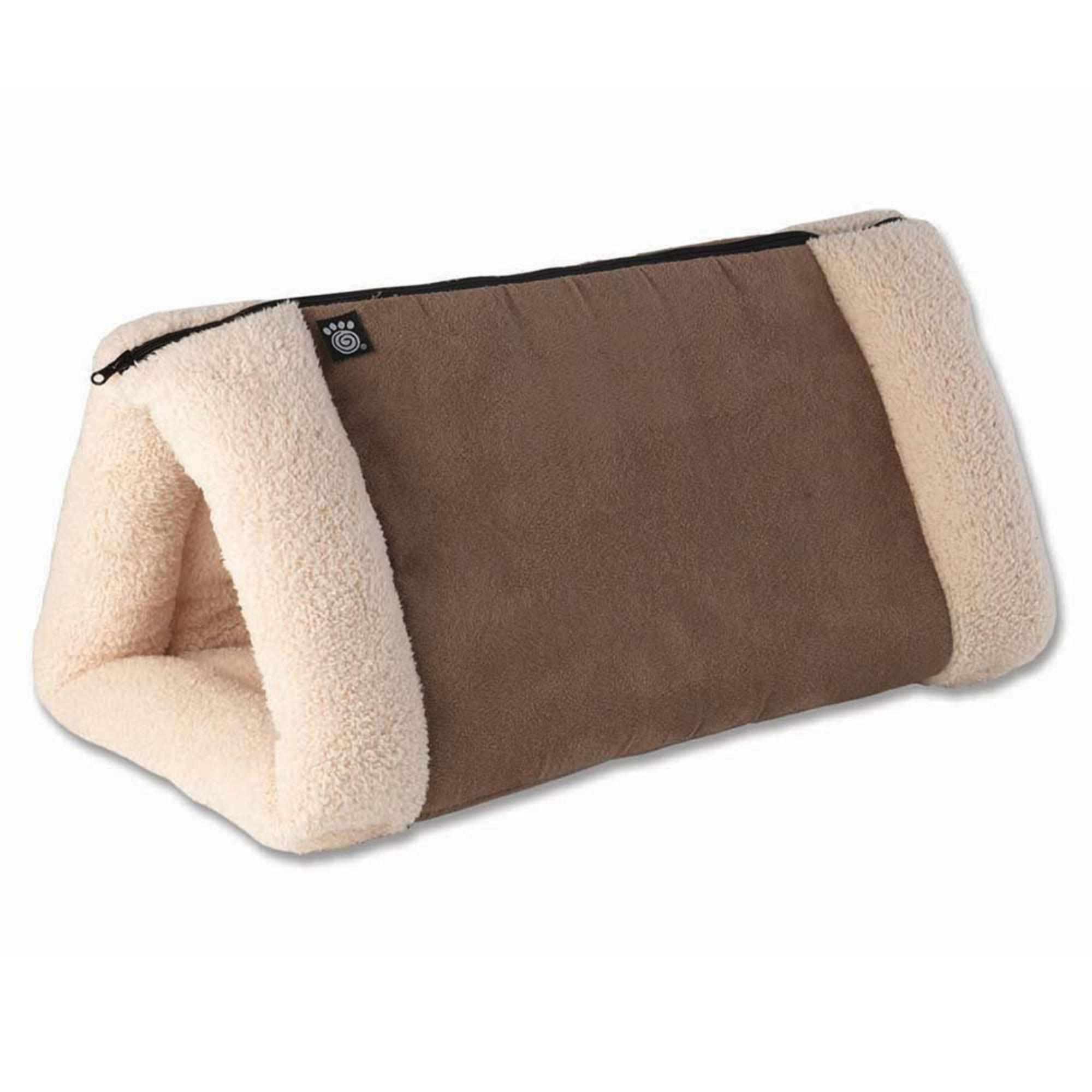 Jasper's 2 in 1 Travel Mat - Mocha/Cream