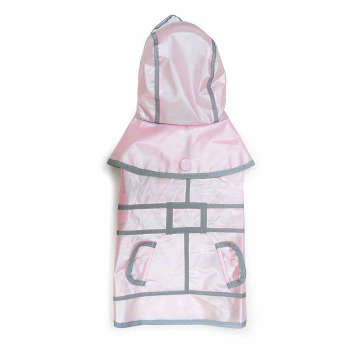 Jelly Dog Raincoat by Dogo - Pink