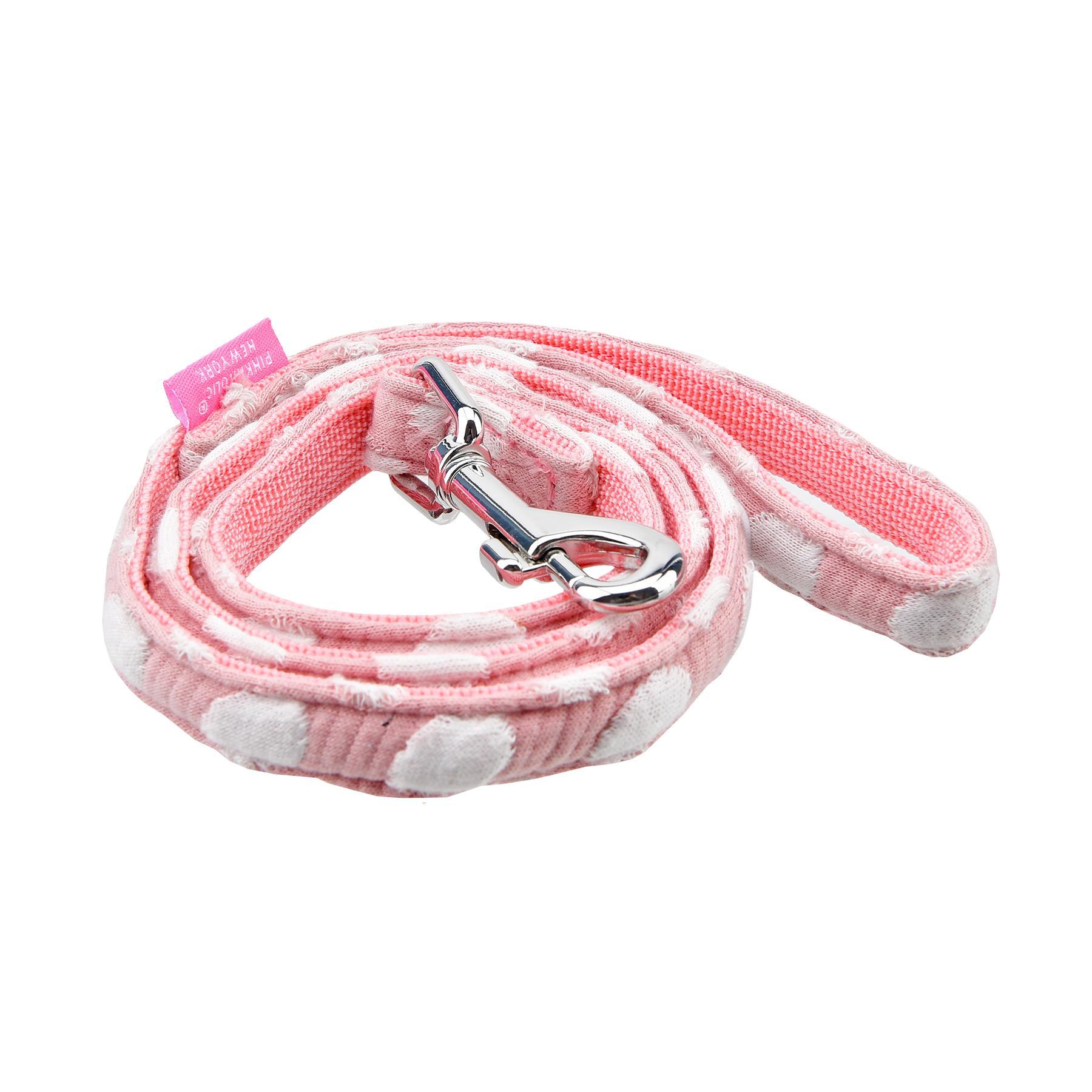 Joceline Dog Leash By Pinkaholic - Pink