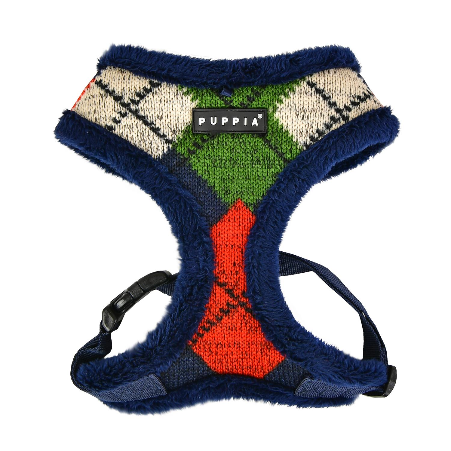 Jolly Dog Harness by Puppia - Navy