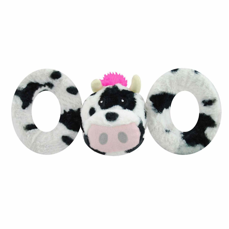 Jolly Pets Tug-A-Mal Dog Toy - Cow