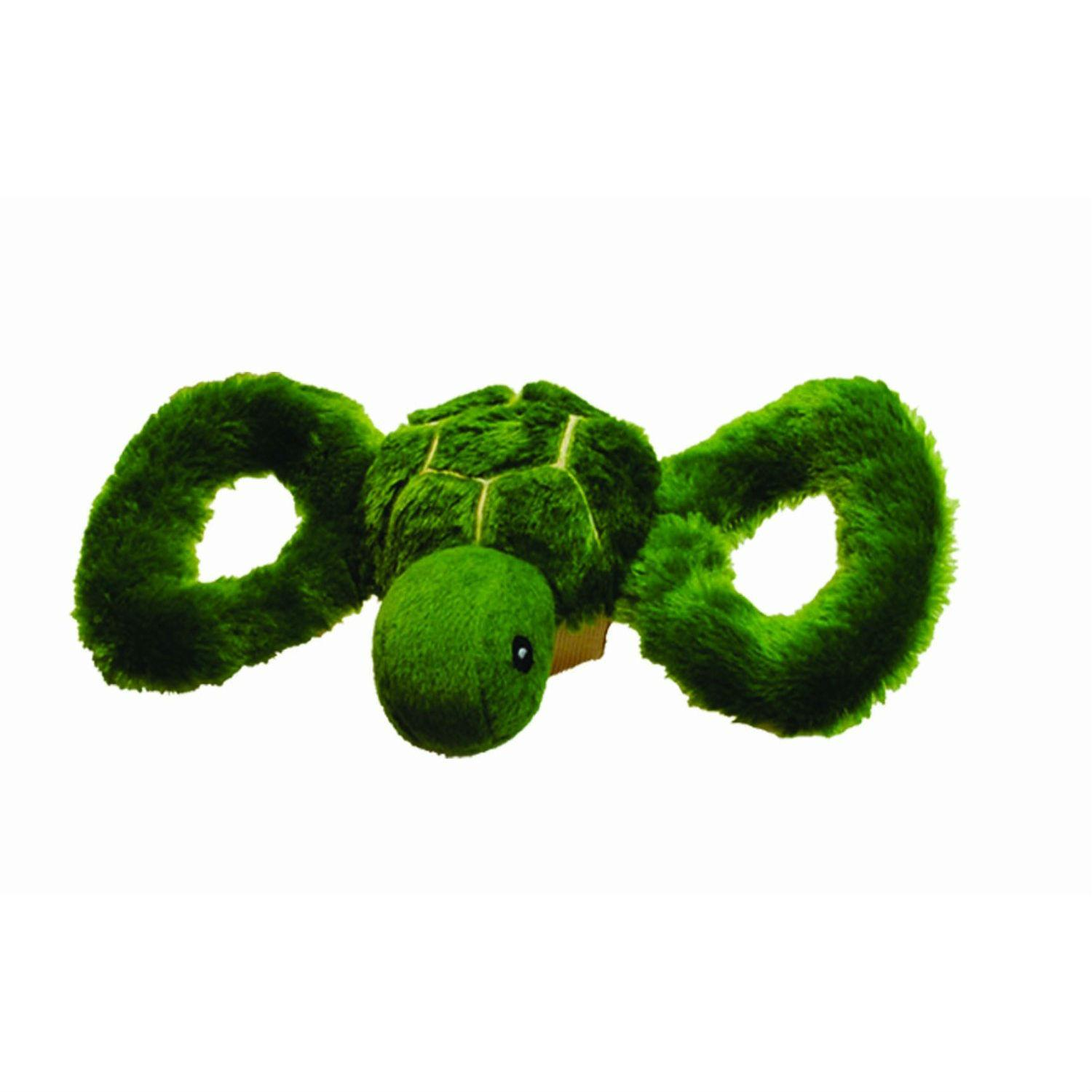 Jolly Pets Tug-A-Mal Dog Toy - Turtle