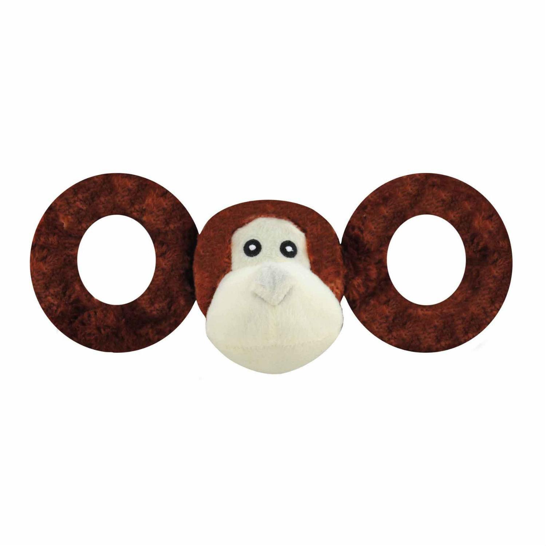 Jolly Pets Tug-A-Mal Dog Toy - Monkey