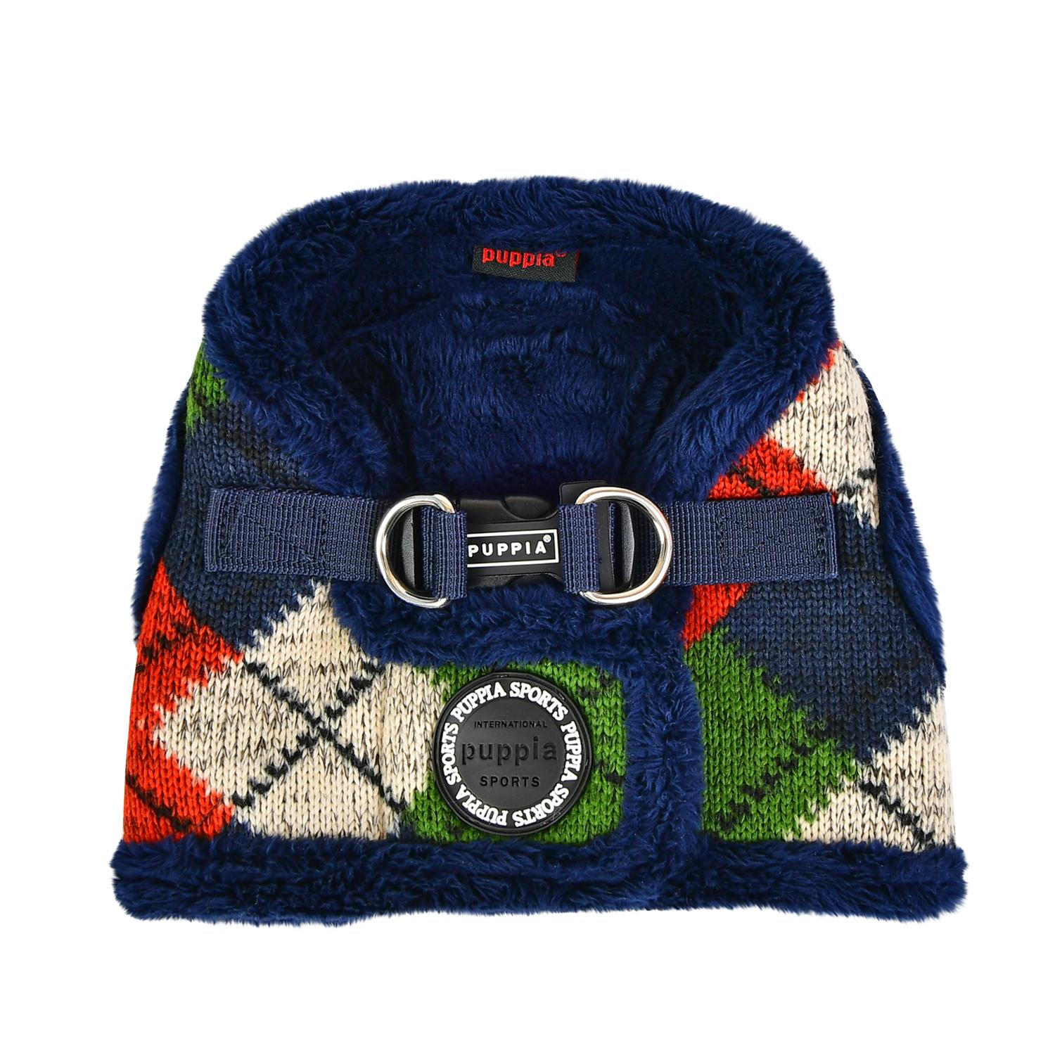 Jolly Vest Dog Harness by Puppia - Navy