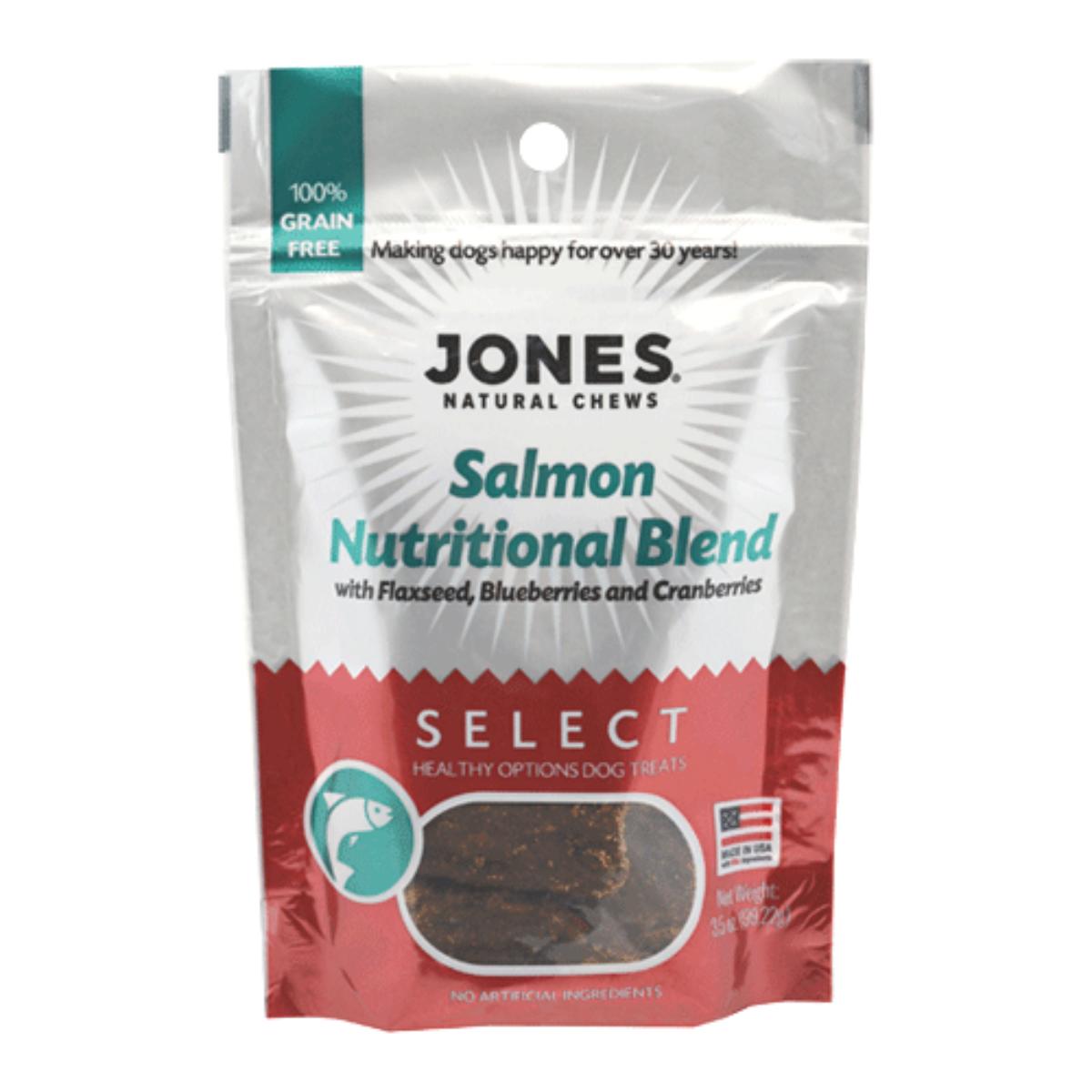 Jones Select Dog Treat - Salmon Nutritional Blend