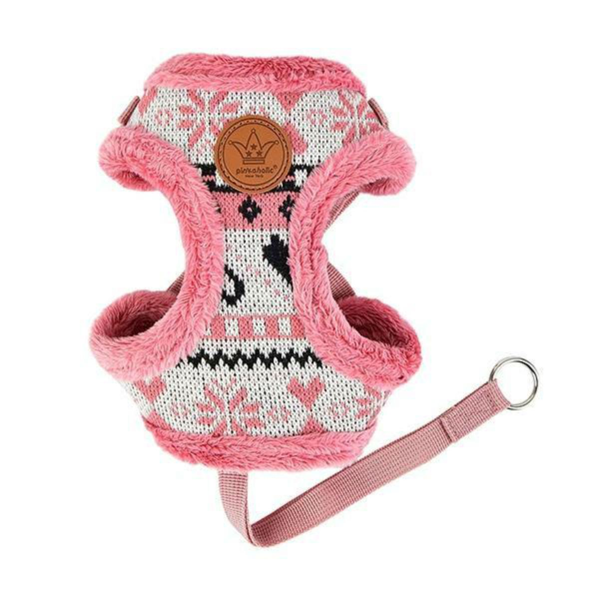 Joy Comfort Dog Harness by Pinkaholic - Indian Pink