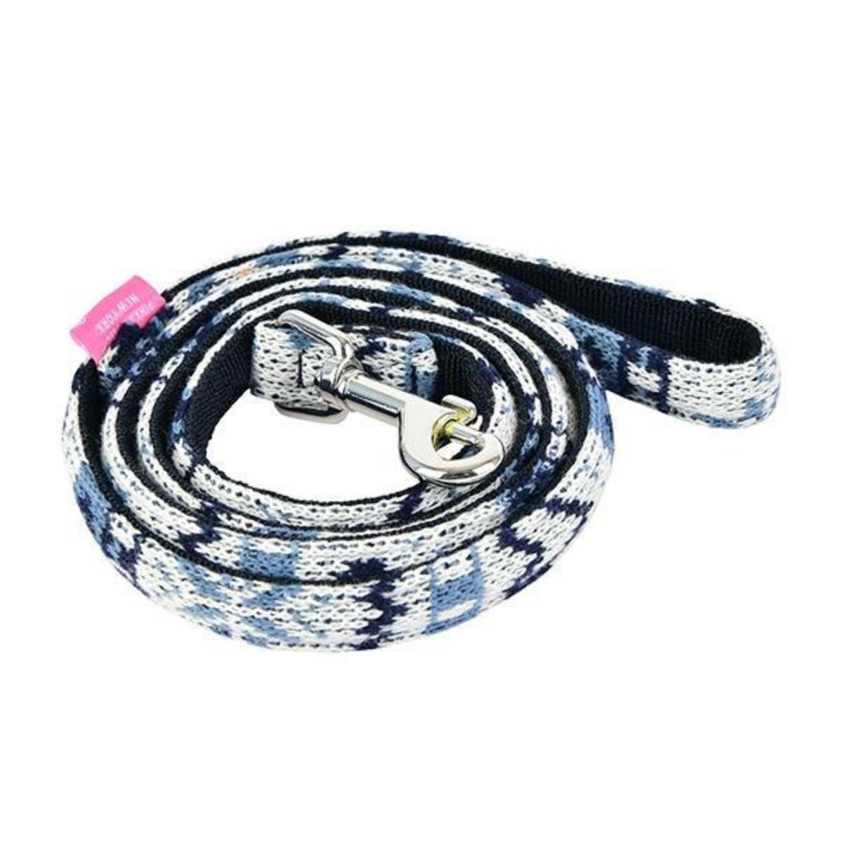 Joy Dog Leash by Pinkaholic - Navy