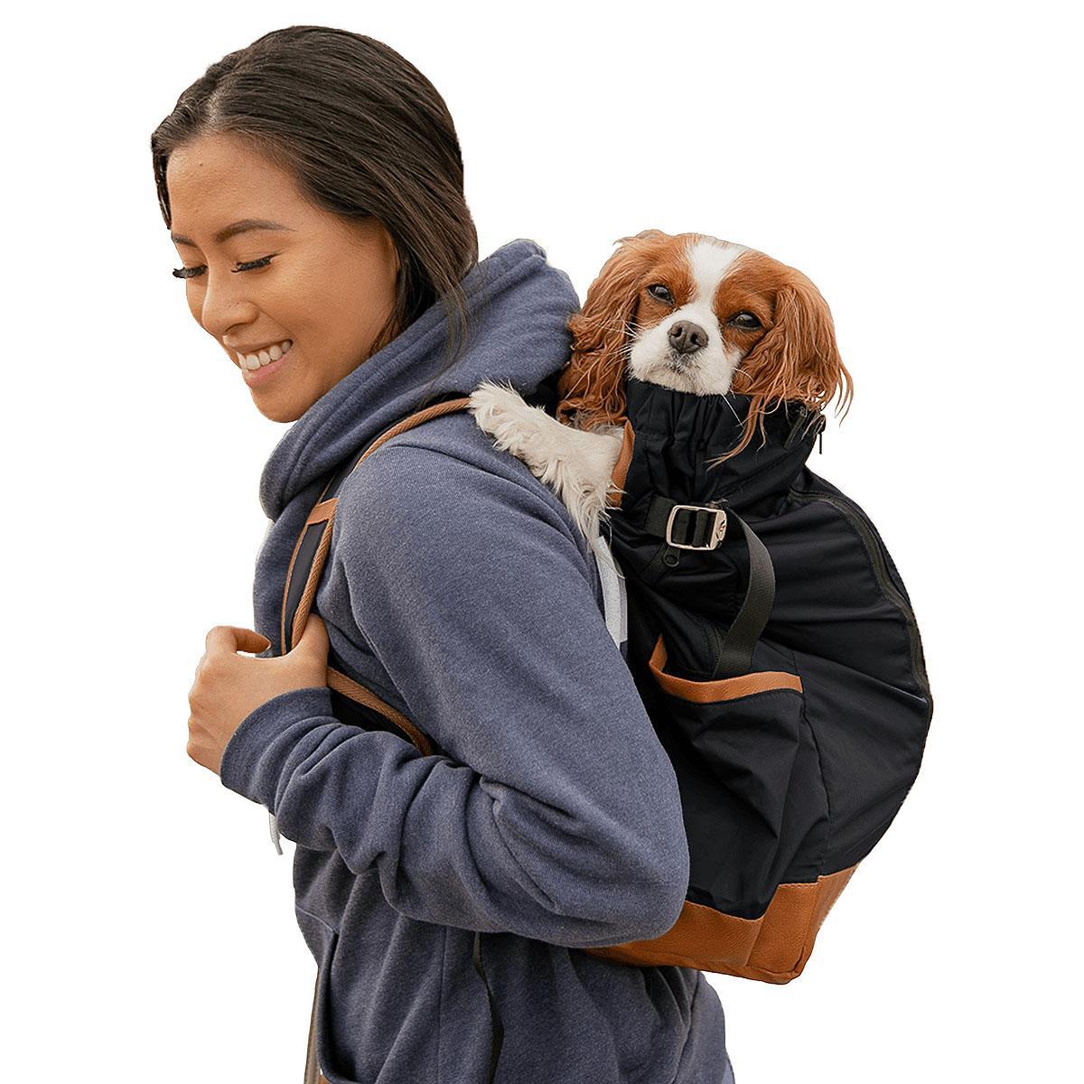 K9 Sport Sack Urban 2 Dog Backpack - Black