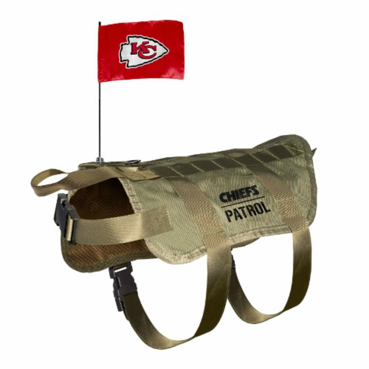 Kansas City Chiefs Tactical Vest Dog Harness
