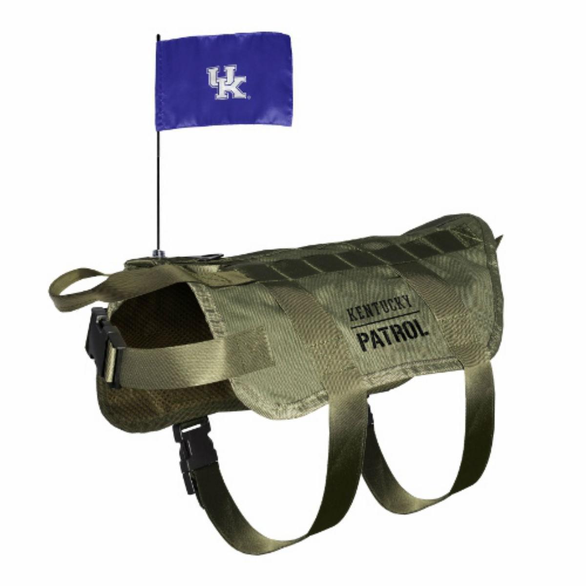 Kentucky Wildcats Tactical Vest Dog Harness