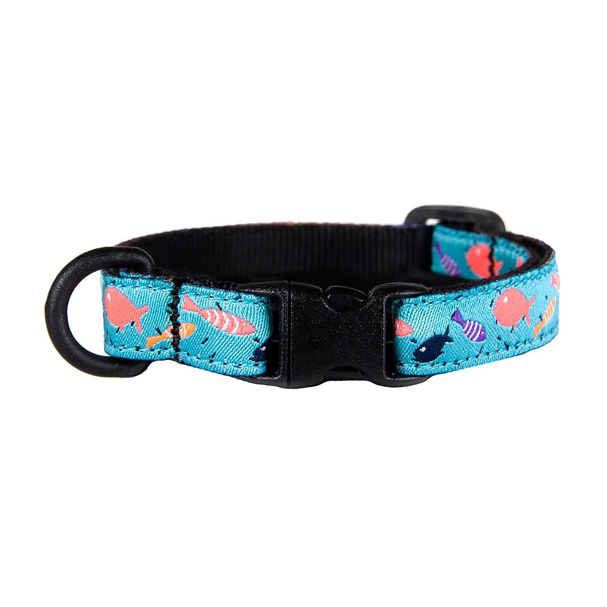 Kitty Breakaway Cat Collar - Shoal