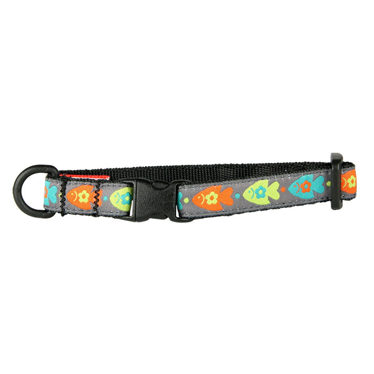Kitty Breakaway Cat Collar - Fish