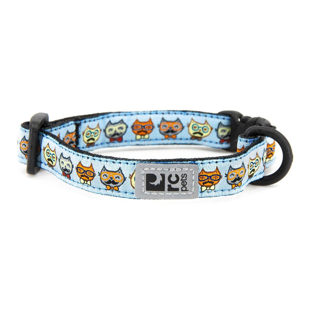 Kitty Breakaway Cat Collar - Meowstache