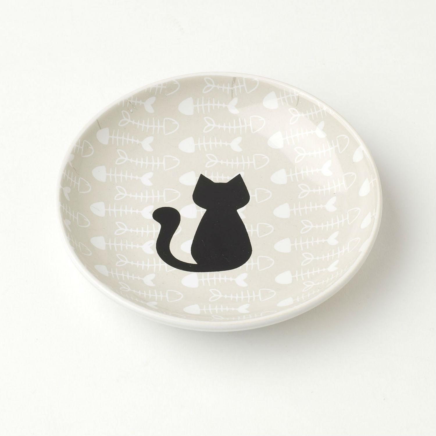 Kitty & Fish Cat Saucer