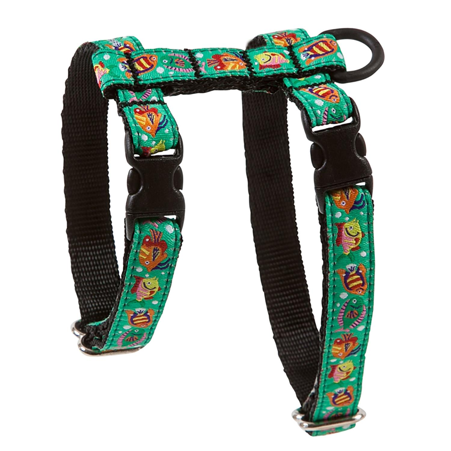 Kitty RC Cat Harness - Tropical Fish