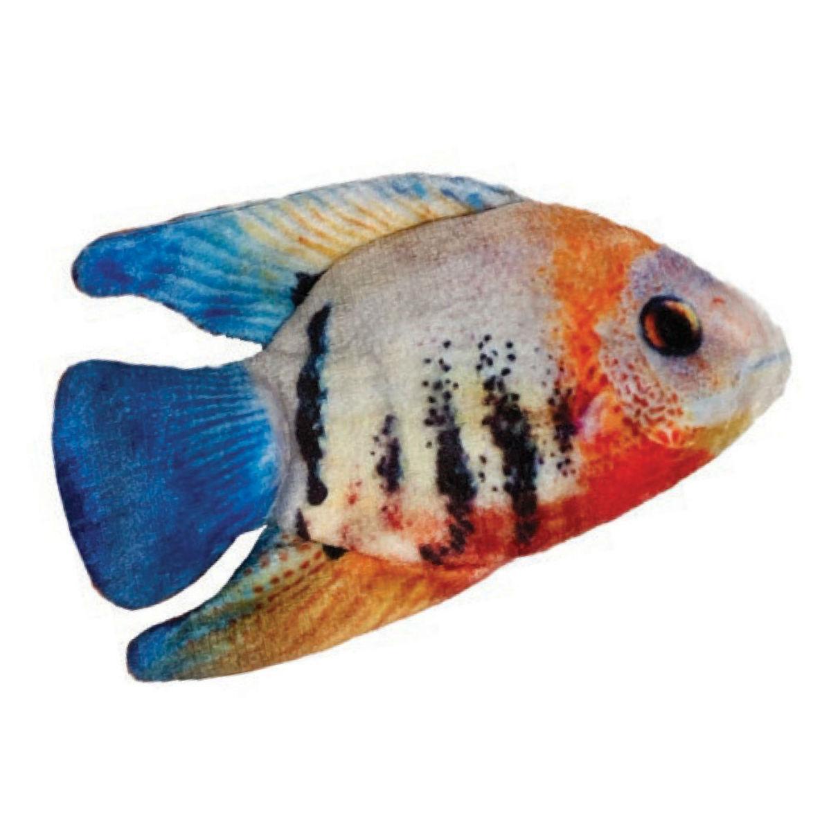 Kittybelles Angelfish Plush Fish Cat Toy