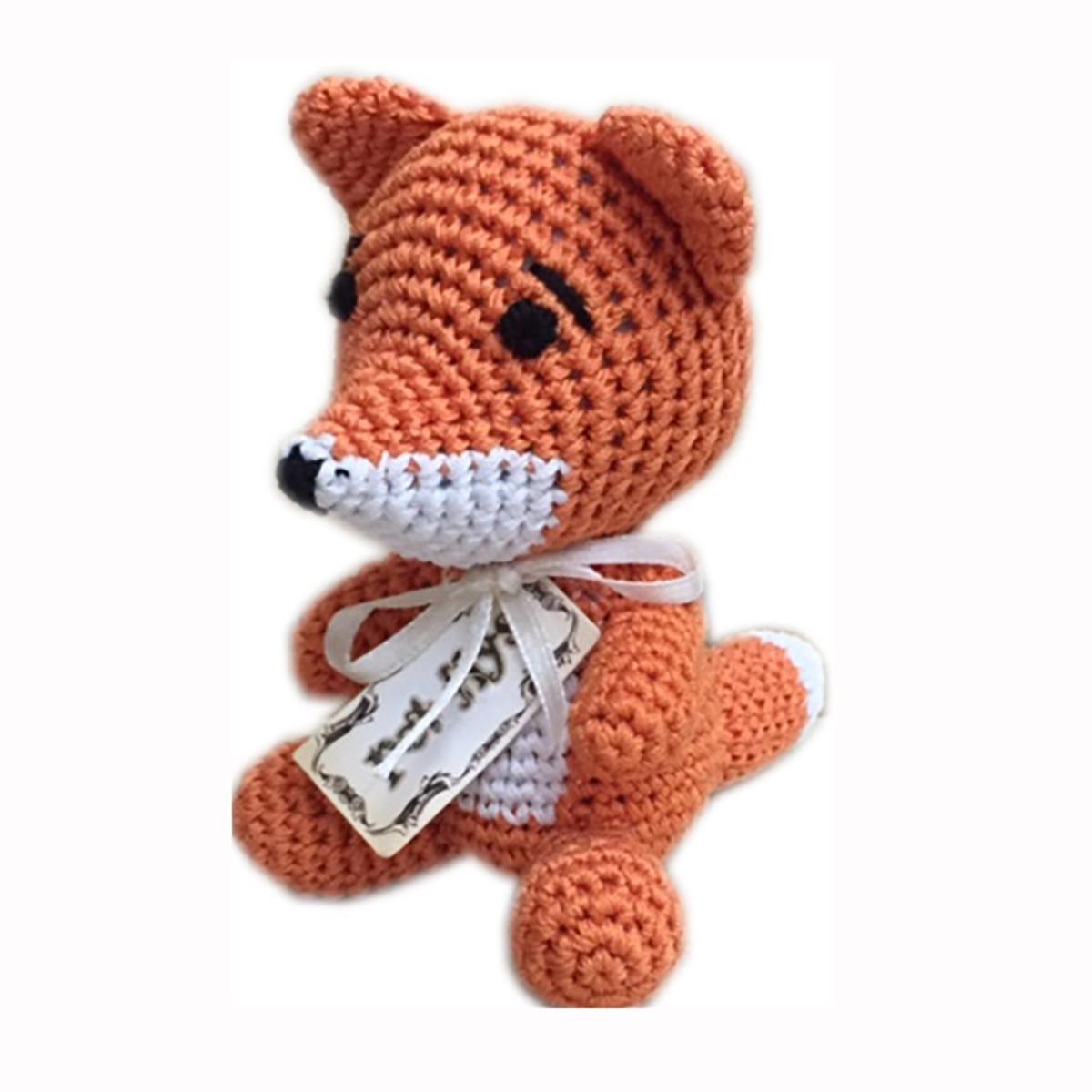Knit Knacks Kit the Fox Dog Toy