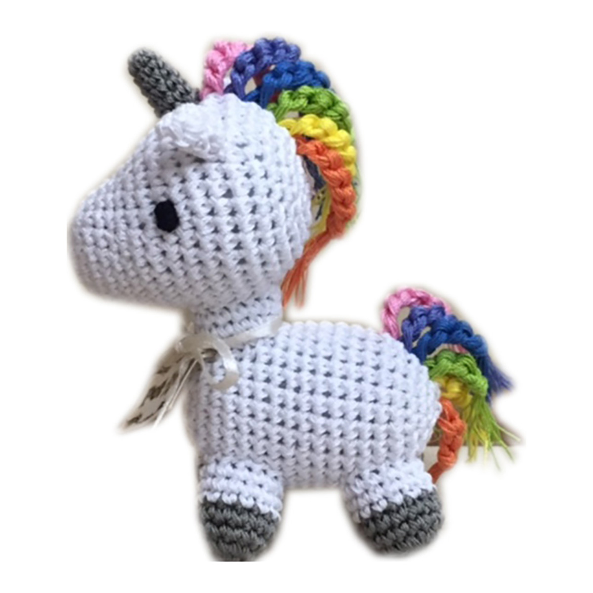 Knit Knacks Mystic the Magic Unicorn Organic Dog Toy