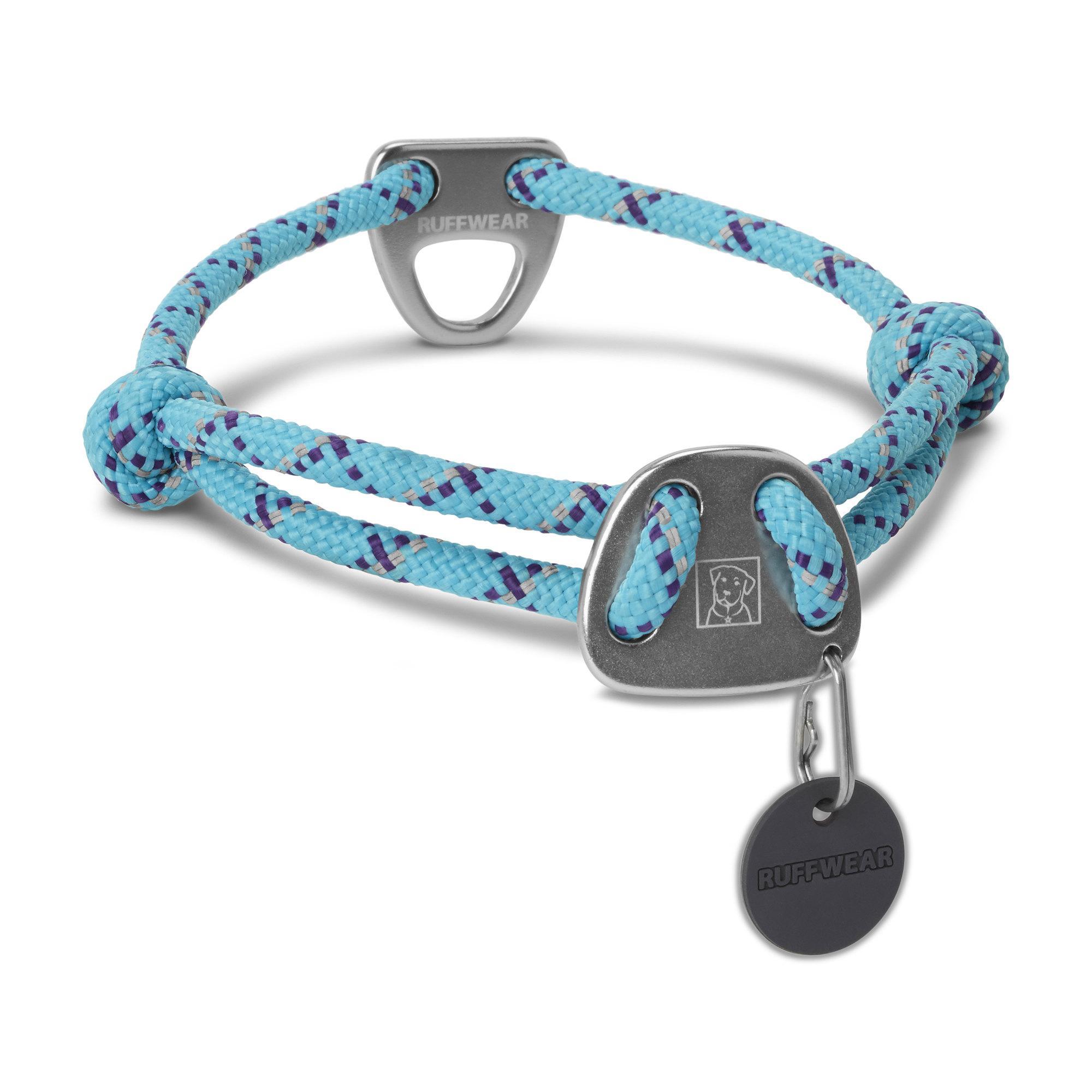 Knot-A-Collar Dog Collar by RuffWear - Blue Atoll