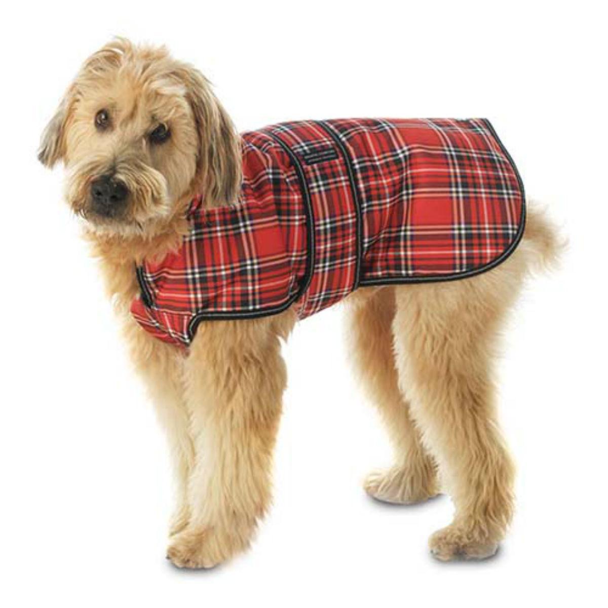 Kodiak Dog Coat - Red Plaid